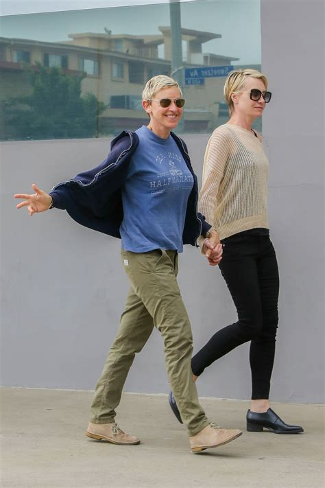 and portia 2014 degeneres and portia de out in west