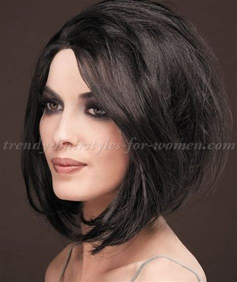 medium length hairstyles for straight hair   medium length