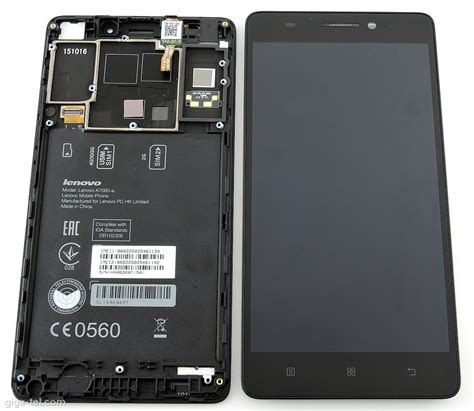 Lcd Lenovo A7000 lenovo a7000 front cover lcd touch