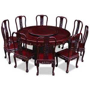 Dining Table And 10 Chairs 66in Rosewood Imperial Design Dining Table With 10 Chairs