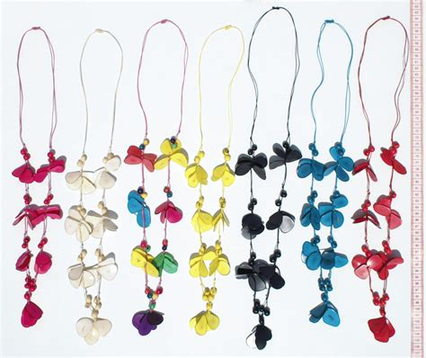 Handmade Jewelry From Around The World - tagua necklaces crafts from ecuador