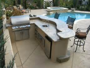 Small L Shaped Kitchen Designs With Island custom outdoor kitchens and bbq s