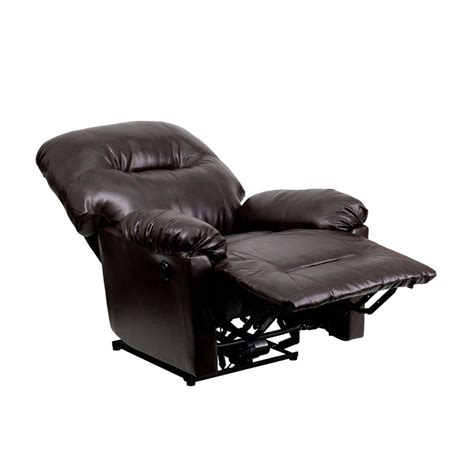 contemporary recliner chair flash furniture leather chaise powerful comfortable