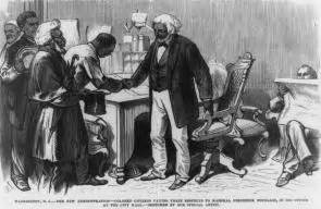 reconstruction voices from america s great struggle for racial equality the library of america books frederick douglass from slavery to freedom the gilder