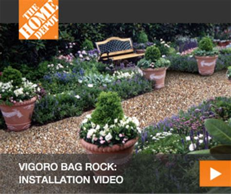 Landscape Rock Bags Vigoro Bag Rock Hardscapes At The Home Depot