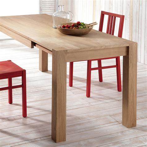 lade in legno tavolo da pranzo allungabile in legno di rovere fedro