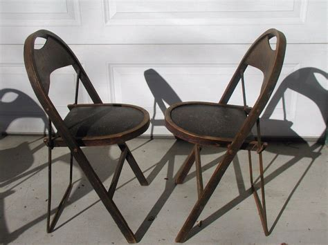 antique stakmore folding chair home and space decor