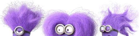 miniun hair style purple minion makeup and hair for the evil minion