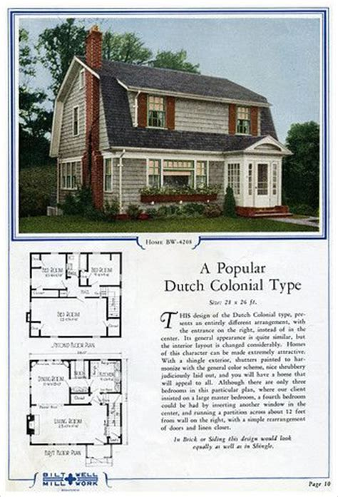dutch colonial 1906 gambrail 1920s dutch colonial house 1000 images about vintage on pinterest kit homes
