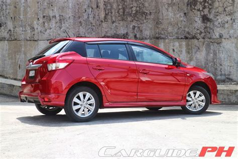 Yaris Trd 2014 120 review 2014 toyota yaris 1 3 e philippine car news car