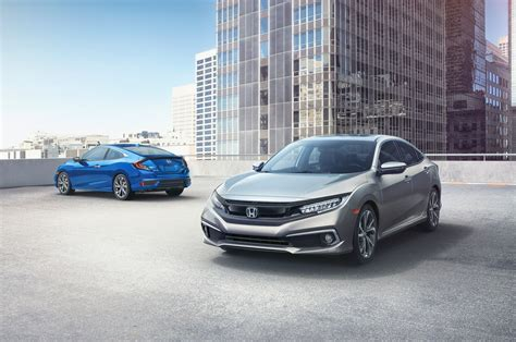 2019 honda civic honda civic 2019 gets revised styling and some new tech