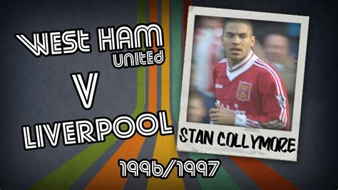 Dvd 1996 All The Goals stan collymore west ham v liverpool 96 97 retro goal