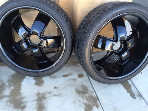 24 inch tires 24 inch black rims with tires offer california fresno 1000