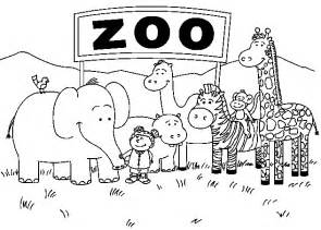 zoo animal coloring pages for toddlers animal coloring pictures for