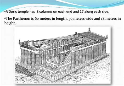 floor plan of parthenon architecture parthenon