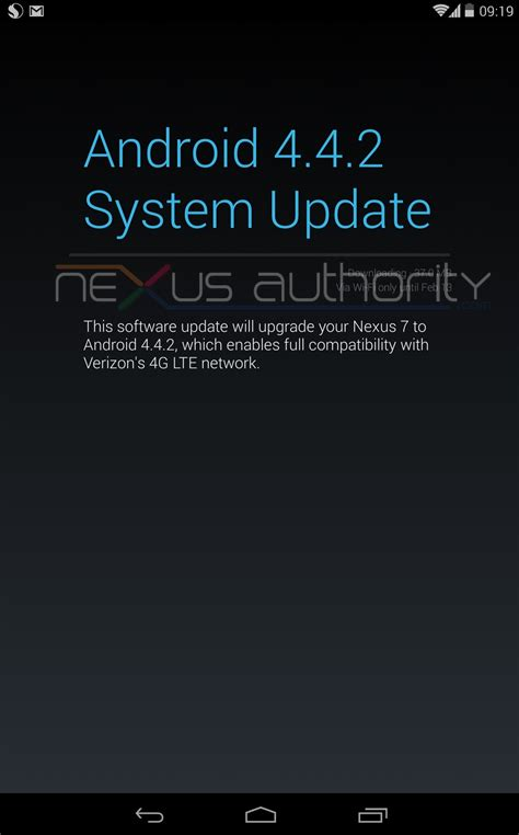 verizon android update verizon android 4 4 2 kvt49l ota update gizmo bolt exposing technology social media web