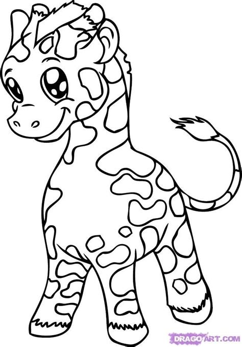 cute giraffe coloring pages cute baby giraffe coloring pages coloring books and