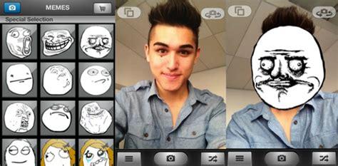 Meme Face App - aplicativo para iphone transforma seus amigos em memes