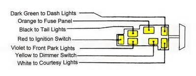 headlight switch issues trifive 1955 chevy 1956 chevy 1957 chevy forum talk about your