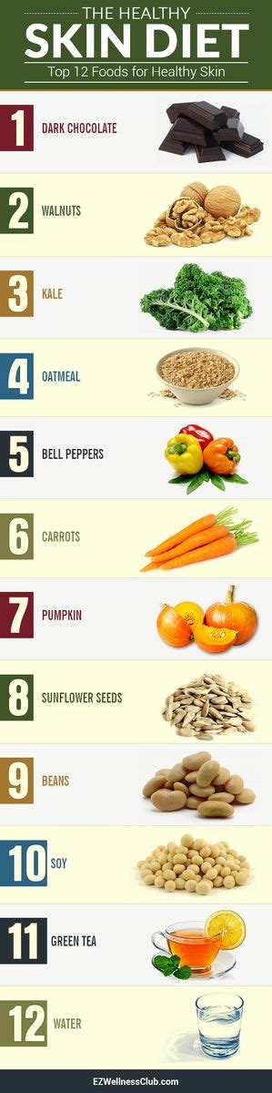 Detox Diet Plan For Acne Skin by Best 25 Skin Food Ideas On Clear Skin Food