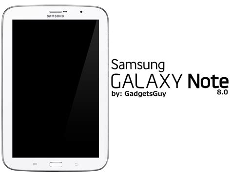 Samsung Galaxy Note 8 0 samsung galaxy note 8 0 by gadgetsguy on deviantart