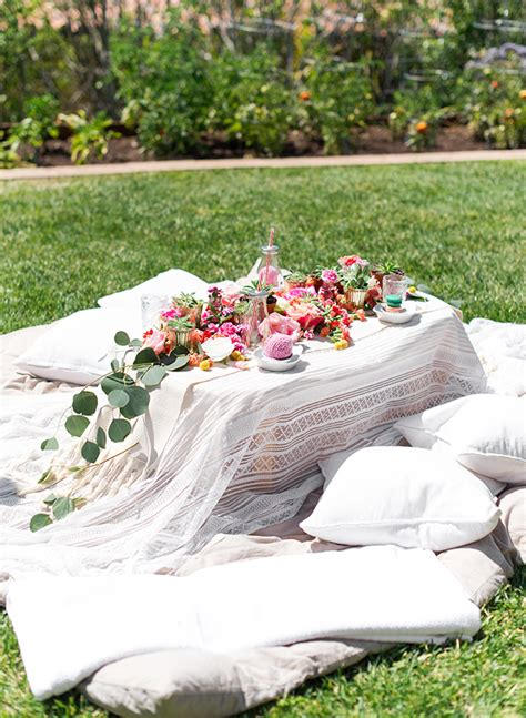 backyard picnic ideas kids floral backyard picnic inspired by this