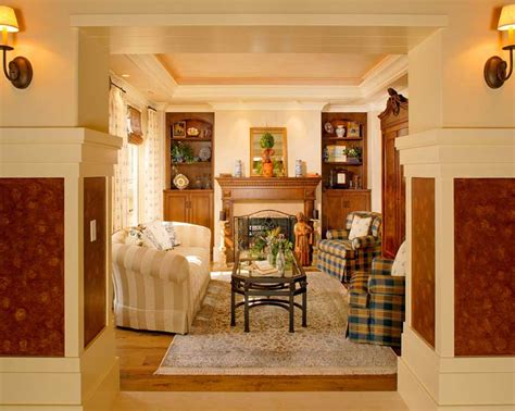 craftsman style home interiors craftsman interior design southern california