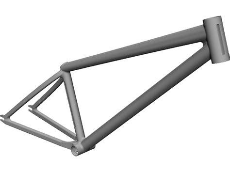 Dirt Bike Frame 3D CAD Model   3D CAD Browser