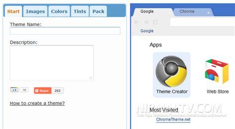 chrome theme creator comment cr 233 er son propre theme pour google chrome
