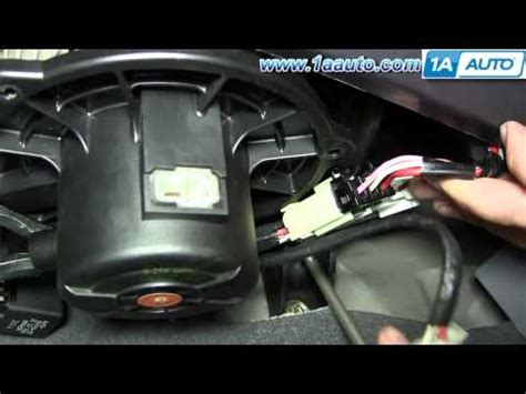 how to replace blower motor resistor hyundai elantra how to replace install ac heater blower fan motor 2001 06 hyundai elantra how to save money