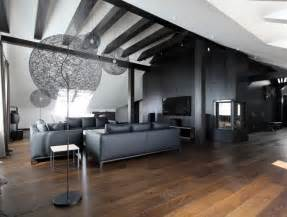 wohnideen wohnzimmer modern wohnzimmer in grau und schwarz gestalten 50 wohnideen
