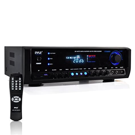 pyle pt390btu bluetooth digital home theater stereo