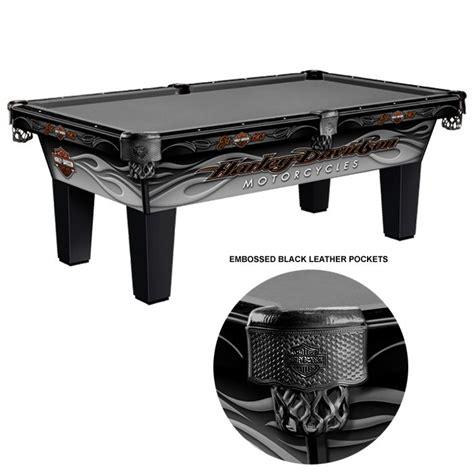 olhausen harley davidson radical flames pool table