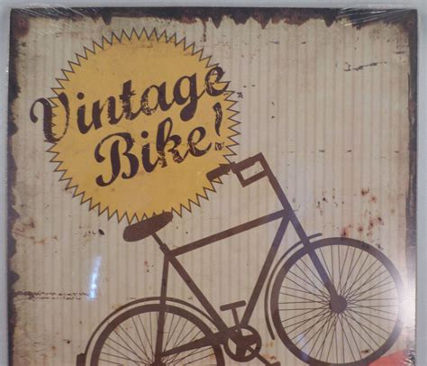 vintage wooden signs home decor vintage inspired retro bike bicycle decor wooden sign