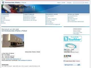 consolato italiano in marocco sito ambasciata italiana in marocco