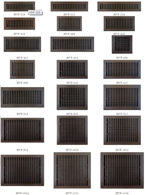 10 x 30 return floor register other large and sized floor vent and return sizes