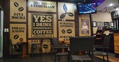 Kopi Di Coffee Toffee seruput kopi lintong di coffee toffee jalan jalan makan