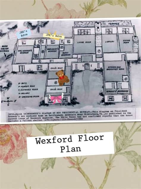 kennedy white house floor plan camelot days jackie s wexford home floor plan don t know which rooms belonged