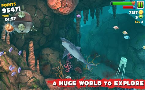 Download Game Hungry Shark Mod Apk Data | hungry shark evolution v2 7 2 mod apk data download game