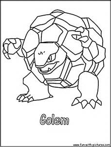 golem pictures colouring pages sketch template