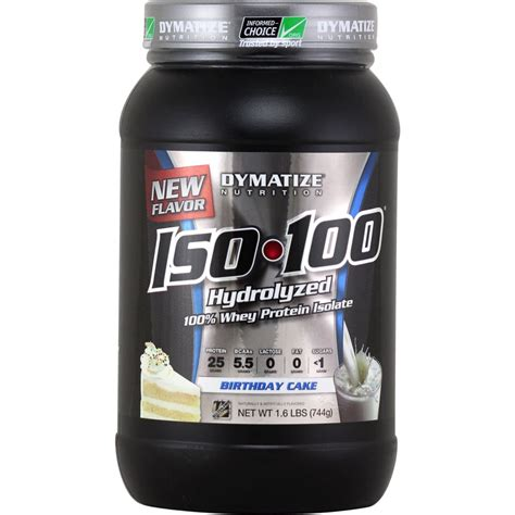New Iso 100 Iso100 Dymatize Nutrition Ecer 1 Lbs iso 100 nutrition warehouse