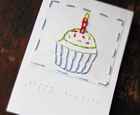how to make braille cards great tactile birthday card with braille wouldn t be