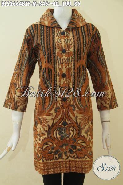 Baju Tenun Wanita Karier Istimewa baju batik premium seragam kerja wanita karir blus batik