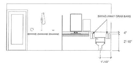 Handicap Bathroom Codes Handicap Grab Bars Types And Placement For Bathroom Safety