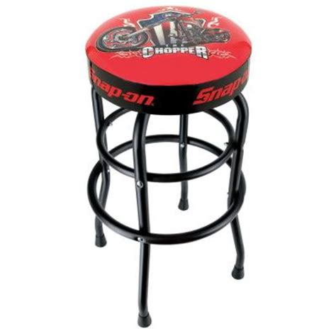 snap on shop stool with chopper 870459 the home depot
