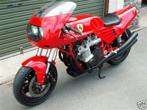 ferrari motorcycle now this is what i call rare the only ferrari motorcycle