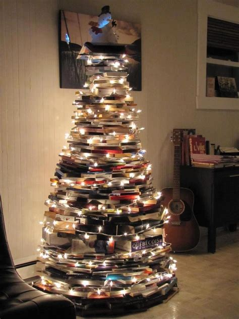 christmas tree made out of books anything to do with