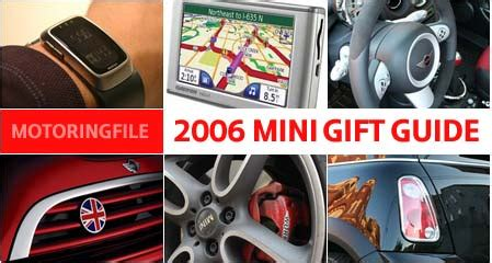 2006 Gift Guide Modish Gift Guide Up by November 2006 Motoringfun