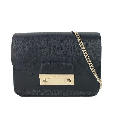 Furla Crossbody furla saffiano leather mini crossbody bag black
