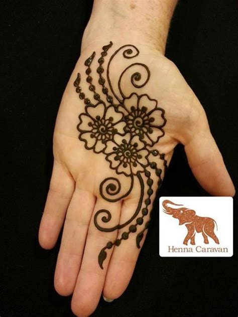 flower hand tattoo designs flowers henna